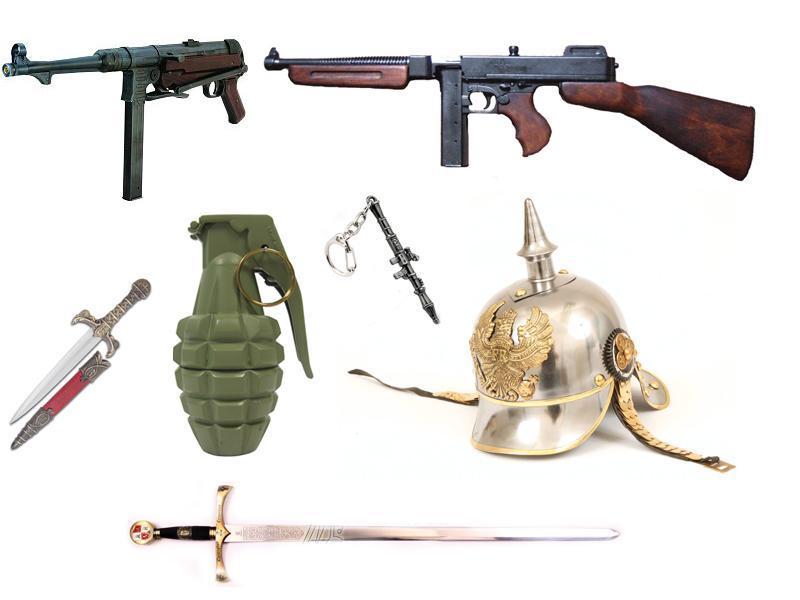 Repliky zbraní